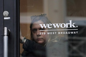 Startup công nghệ tỷ USD WeWork trượt giá 'khủng' trước thềm IPO