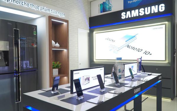 Samsung bắt tay với các nhà phân phối mở một loạt cửa hàng Brand Shop