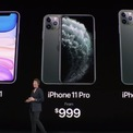 """<p class=""""Normal""""> <strong>Giá rẻ hơn đáng kể</strong></p> <p class=""""Normal""""> Giá khởi điểm của iPhone 11 là 699 USD, thấp hơn mức 999 USD của iPhone 11 Pro và 1.099 USD của 11 Pro Max. Điều đó có nghĩa người dùng sẽ tiết kiệm được ít nhất 300 USD nếu chọn bản tiêu chuẩn, nhất là khi chúng đều có dung lượng bộ nhớ 64 GB.</p>"""