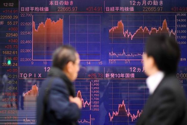 Chứng khoán châu Á tăng khi chờ kết quả Fed họp
