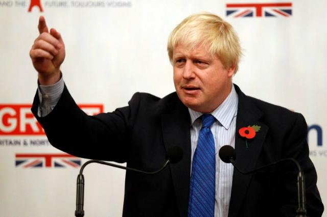Thủ tướng Anh Boris Johnson. Ảnh: Reuters.