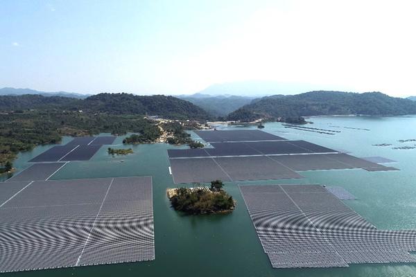 Đồng Nai đề xuất bổ sung 5.400 MWp điện mặt trời trên lòng hồ Trị An