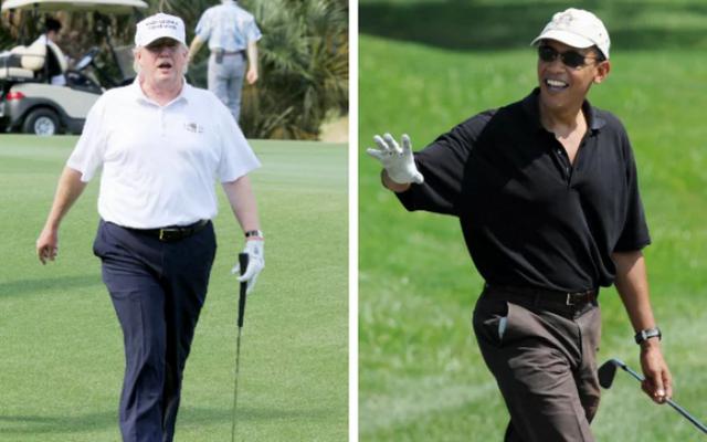 Đặt lên bàn cân 2 vị Tổng thống nổi tiếng mê golf nhất Nhà Trắng: Người tự học, người bị chỉ trích dữ dội - Ảnh 7.