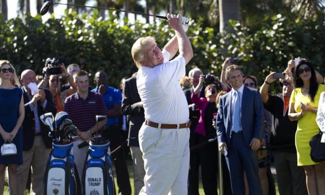 Đặt lên bàn cân 2 vị Tổng thống nổi tiếng mê golf nhất Nhà Trắng: Người tự học, người bị chỉ trích dữ dội - Ảnh 2.