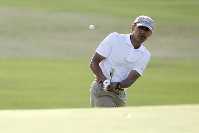 Đặt lên bàn cân 2 vị Tổng thống nổi tiếng mê golf nhất Nhà Trắng: Người tự học, người bị chỉ trích dữ dội - Ảnh 6.