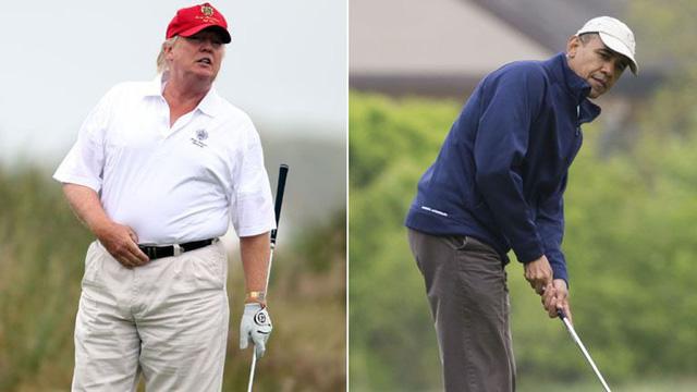 Đặt lên bàn cân 2 vị Tổng thống nổi tiếng mê golf nhất Nhà Trắng: Người tự học, người bị chỉ trích dữ dội - Ảnh 4.