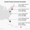 """<p class=""""Normal""""> Tổng thống Mỹ Donald Trump là một ông trùm bất động sản. Công ty của ông sở hữu hơn 2 tỷ USD bất động sản ở khắp New York City, Washington, Chicago, San Francisco và các thành phố lớn khác tại Mỹ. Bản thân ông cũng nắm giữ bất động sản trị giá hơn 122 triệu USD dọc bờ Đại Tây Dương, theo ước tính của <em>Forbes</em>.</p> <p class=""""Normal""""> <span>Tháng 6, ông Trump đã bán biệt thự theo phong cách Tudor với diện tích hơn 5.300 m2 tại Beverly Hills với giá 13,5 triệu USD, trang <em>The Los Angeles Times</em> đưa tin.</span></p> <p class=""""Normal""""> <span>Hiện tại, tổng thống Mỹ sở hữu 8 bất động sản ở 3 bang và một hòn đảo thuộc quần đảo Carbbean Island.</span></p> <p class=""""Normal""""> <span>Giá trị của khối tài sản bất động sản này được <em>Forbes </em>tính toán đến tháng 2. Ảnh: </span><em>Business Insider.</em></p>"""