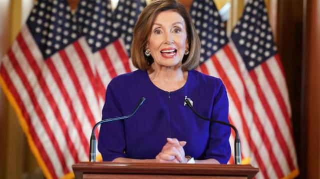 Chủ tịch Hạ viện Mỹ Nancy Pelosi. Ảnh: AFP.