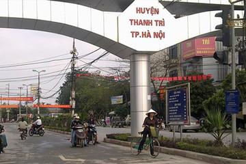 Huyện Thanh Trì hoàn thiện các tiêu chí để phát triển lên quận