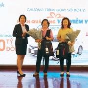 512 khách hàng trúng thưởng từ Sacombank