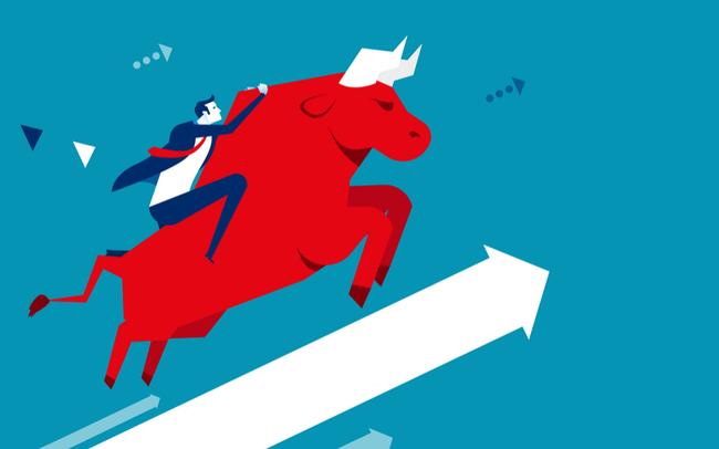 Cổ phiếu tài chính đồng loạt tăng, VN-Index lên hơn 3 điểm