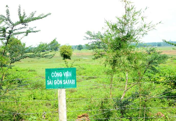 Safari Sài Gòn 485 ha cần điều chỉnh quy hoạch, không có chức năng ở, nghỉ dưỡng