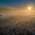 """<p class=""""Normal""""> <strong>'Năm mới ô nhiễm' - Eliud Gil Samaniego, Mexicali, Baja California, Mexico, giải <em>Đô thị bền vững</em></strong></p> <p class=""""Normal""""> Ngày 1/1/2018, Mexicali trở thành một trong những thành phố ô nhiễm nhất thế giới do biến đổi khí hậu, vị trí địa lý, nền công nghiệp và ôtô.</p>"""