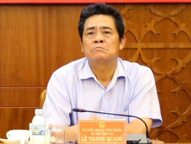 Xem xét kỷ luật một loạt lãnh đạo tỉnh Khánh Hòa