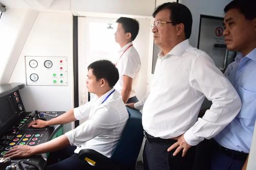 Tàu Cát Linh - Hà Đông sẽ vận hành thương mại trong năm 2019
