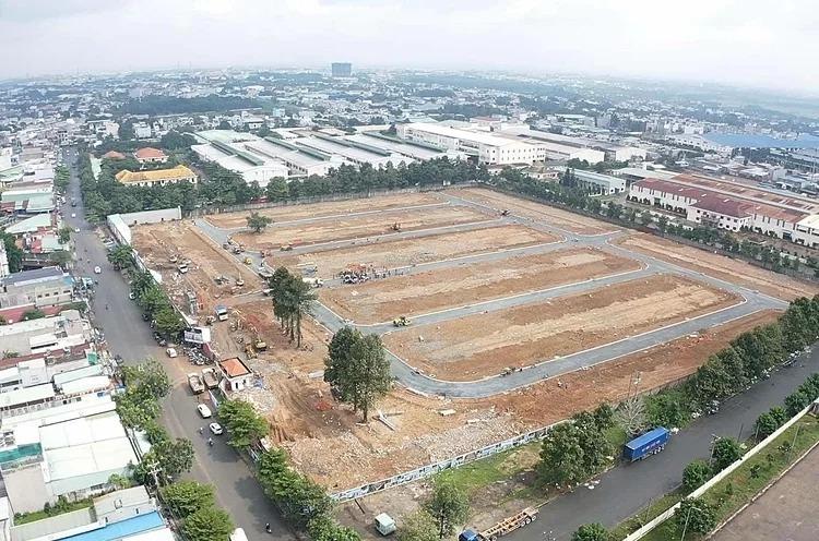 Sau tin lên thành phố, giá đất Thuận An, Dĩ An ở Bình Dương tăng cục bộ