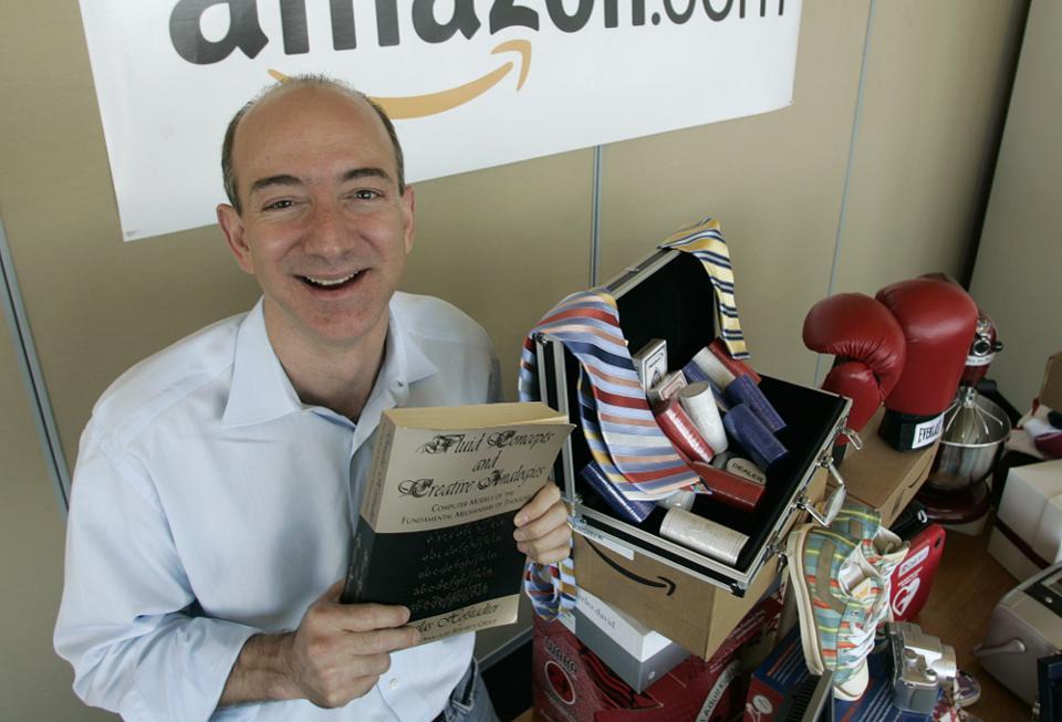 jeff bezos - 5 1569997789 - Tài sản của tỷ phú giàu nhất thế giới Jeff Bezos thay đổi thế nào qua từng năm?