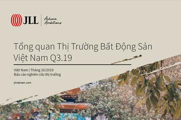 JLL Việt Nam: Báo cáo thị trường bất động sản TP HCM quý III/2019