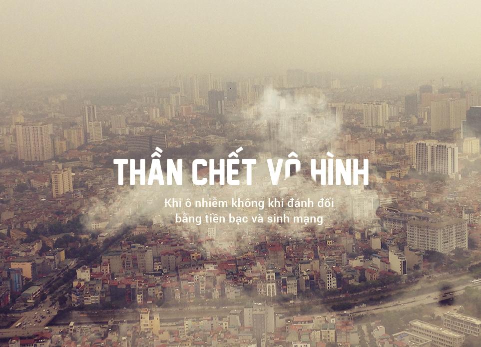 Ô nhiễm không khí: 'Thần chết' vô hình