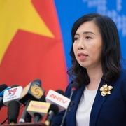 Việt Nam phản đối nhóm tàu HD8 của Trung Quốc mở rộng hoạt động trong EEZ