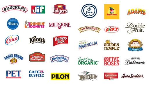 unilever, pepsico, coca-cola,anheuser-busch inbev,procter & gamble - smuckers brands80 5772 1570118409 - Doanh nghiệp nào sở hữu nhiều thương hiệu nổi tiếng nhất thế giới?