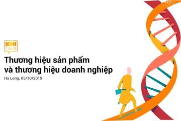 Sáng nay diễn ra NDH Talk 10: Thương hiệu sản phẩm & Thương hiệu doanh nghiệp
