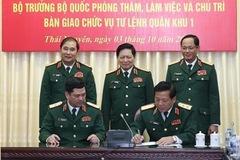 Quân đội điều động nhân sự cấp cao