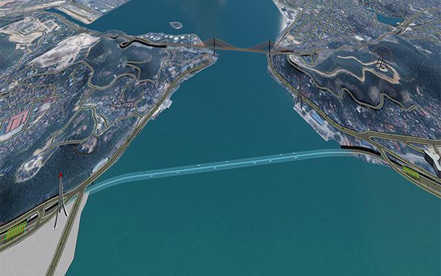 Hyundai E&C muốn hỗ trợ Quảng Ninh dự án hầm đường bộ 9.700 tỷ đồng qua Vịnh Cửa Lục