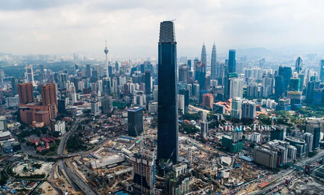 Vượt Landmark 81, tháp 492 m ở Malaysia là tòa nhà cao nhất Đông Nam Á