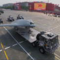 <p> Máy bay không người lái Sharp Sword có khả năng mang tên lửa và bom của Trung Quốc. Ảnh: <em>SCMP</em>.</p>