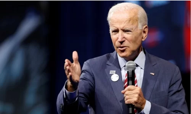 Biden thề đánh bại Trump trong bầu cử 2020