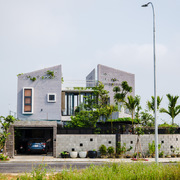 Không gian sống với 4 khối nhà độc đáo ở khu đô thị mới Đà Nẵng