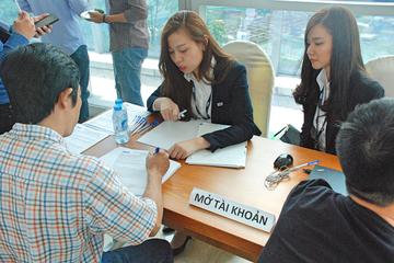 1.080 nhà đầu tư nước ngoài mở mới tài khoản trong quý III