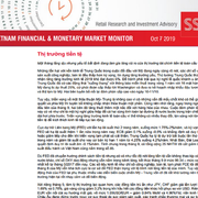 SSI Retail Research: Báo cáo thị trường tài chính tiền tệ Việt Nam tháng 9/2019