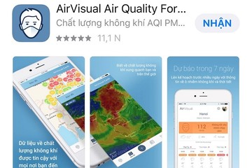 AirVisual bất ngờ quay trở lại với người dùng Việt Nam