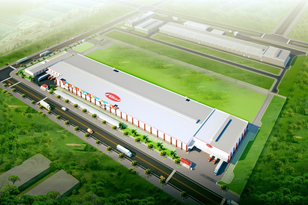 Bibica khánh thành nhà máy 1.000 tỷ đồng tại Long An