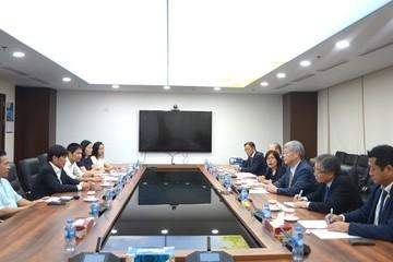 Tập đoàn thép Kyoei đến tìm hiểu mua sản phẩm phôi thép của Hòa Phát