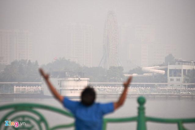 Số liệu ô nhiễm của Hà Nội năm 2019 giống hệt 2005