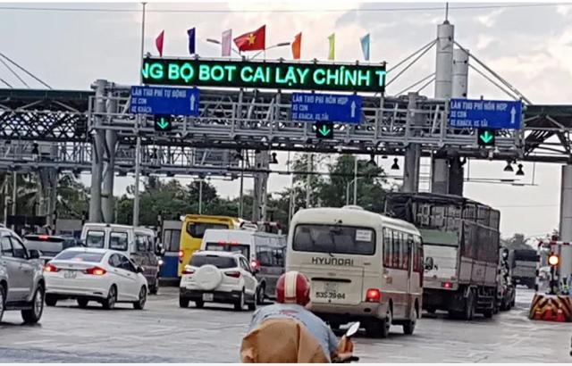 Đề xuất xóa bỏ BOT Cai Lậy, thu phí lại đường cao tốc TP HCM - Trung Lương