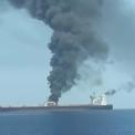 """<p class=""""Normal""""> Tàu chở dầu thuộc sở hữu Công ty Dầu mỏ Quốc gia Iran bị tấn công hôm 11/10 khi đang ở vùng biển cách cảng Jeddah của Arab Saudi khoảng 100 km về phía tây. Vụ nổ khiến thân tàu và hai bể chứa bị hư hại, gây tràn dầu trên Biển Đỏ. Theo website theo dõi tàu Tankertrackers, đây là tàu chở dầu cỡ lớn nhất và đang di chuyển với sức chuyên chở tối đa là 1 triệu barrel dầu, hướng về Syria.</p> <p class=""""Normal""""> Sự việc xảy ra trong bối cảnh căng thẳng Vùng Vịnh vẫn ở mức cao sau cuộc tấn công bằng máy bay không người lái và tên lửa hành trình nhằm vào hai nhà máy dầu chủ chốt của Arab Saudi. Ảnh:<em> Irib News.</em></p>"""