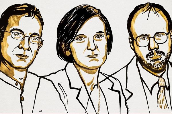 Ba nhà kinh tế đoạt giải Nobel 2019