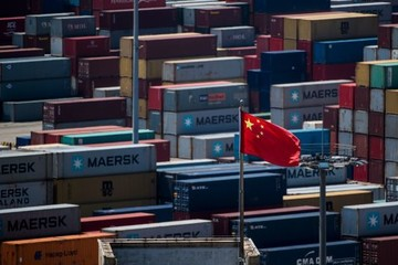 Xuất, nhập khẩu Trung Quốc đồng loạt giảm
