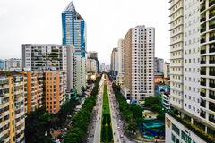 'Rừng' cao ốc chen chân ở các quận nội đô Hà Nội