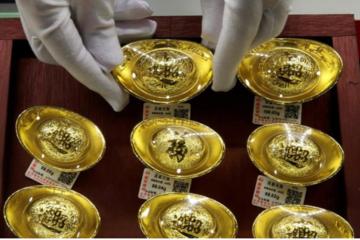 Kinh tế giảm tốc, người Trung Quốc 'lạnh nhạt' với vàng
