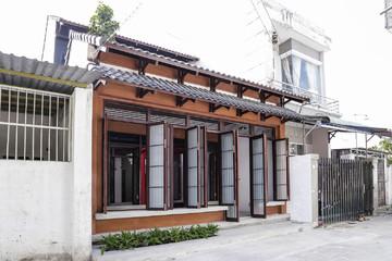 Ngôi nhà mang đậm phong cách Nhật Bản giữa thành phố Tây Ninh