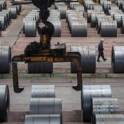 Giá quặng sắt, thép tại Trung Quốc xuống đáy 6 tuần