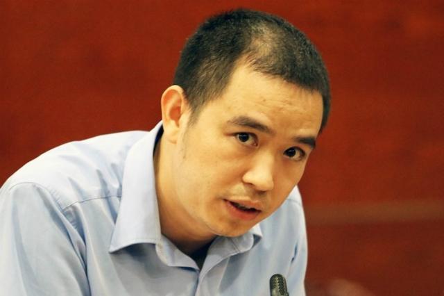 Ông Nguyễn Đăng Khoa, Phó giám đốc Công ty nước sạch sông Đà. Ảnh: Võ Hải