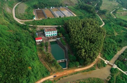 Nhà máy nước sạch sông Đà. Ảnh: Bá Đô
