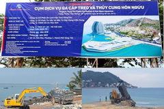Tạm ngừng dự án lấp biển làm thủy cung ở TP Vũng Tàu