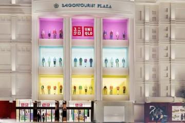 Cửa hàng Uniqlo đầu tiên ở Việt Nam nằm tại Parkson Saigon